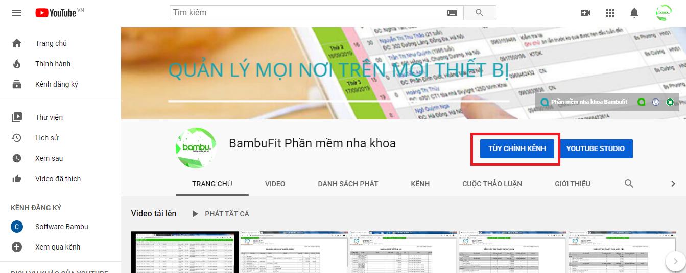 Cách thay đổi tên và đường dẫn URL tùy chỉnh trên kênh Youtube