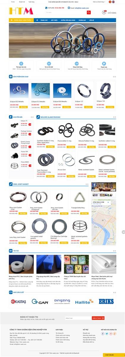 20 mẫu website bán hàng đẹp